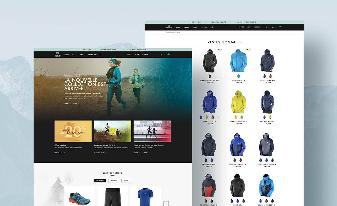 Salomon e-commerce